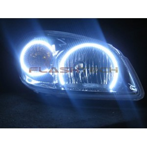 flashtech Chevrolet Cobalt White LED HALO HEADLIGHT KIT  (2005-2010) cobalt CY-CO0510-WH