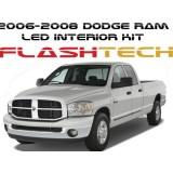 2006-2008 Dodge Ram White LED Interior Kit