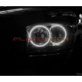 Dodge RAM White LED HALO HEADLIGHT KIT (2006-2008)