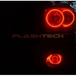 flashtech Dodge RAM V.3 Fusion Color Change LED Halo Headlight Kit (2006-2008) 2006-2008 RAM DO-RM0608-V3H