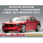 2006-2010 Dodge Charger White LED Interior Kit