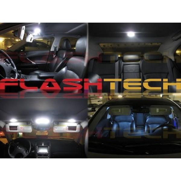2006 2010 Dodge Charger White Led Interior Kit