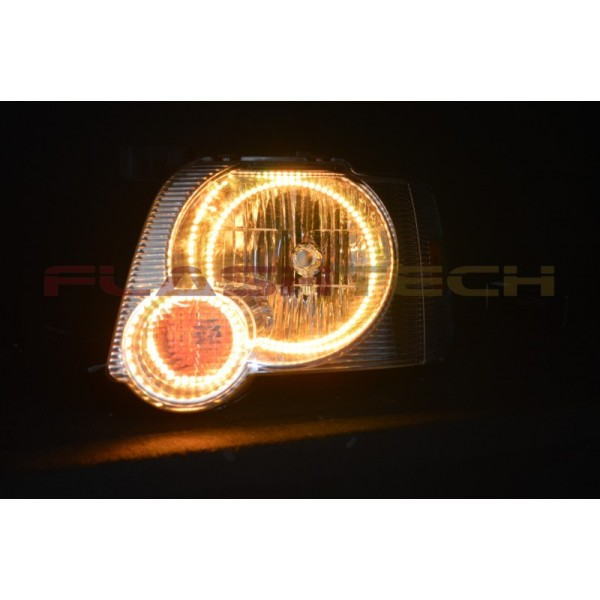 Ford Explorer V 3 Fusion Color Change Led Halo Headlight