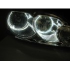 Chevrolet Impala White LED HALO HEADLIGHT  KIT (2006-2012)