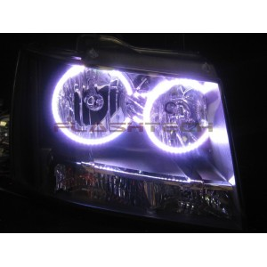 flashtech Chevrolet Tahoe V.3 Fusion Color Change halo headlight kit (2007-2013) Tahoe CY-TA0713-V3H