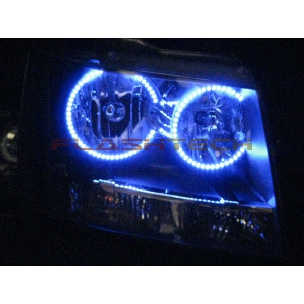 Chevrolet Tahoe V.3 Fusion Color Change halo headlight kit ...