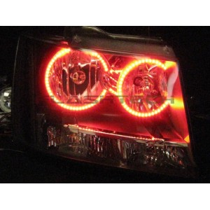 flashtech Chevrolet Avalanche V.3 Fusion Color Change halo headlight kit (2007-2013) Avalanche CY-AV0713-V3H