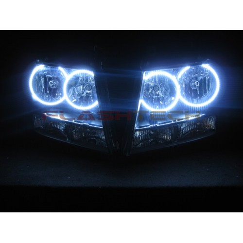 Hyundai Round Rock >> Chevrolet Tahoe White LED HALO HEADLIGHT KIT (2007-2013)