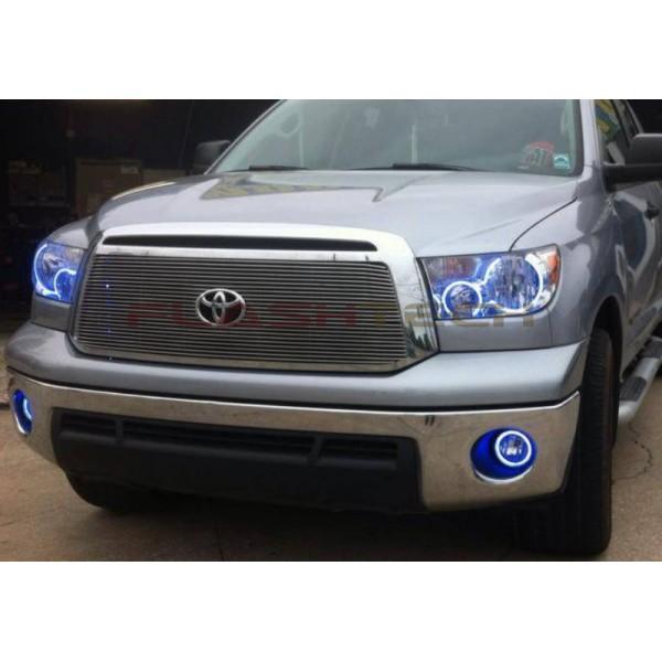 Flashtech Toyota Tundra V 3 Fusion Color Change Halo Fog Light Kit 2007