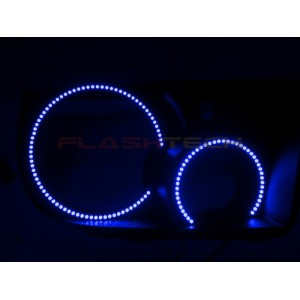 flashtech Toyota Sequoia V.3 Fusion Color Change LED Halo Headlight Kit (2007-2013) Sequoia TO-SQ0713-V3H
