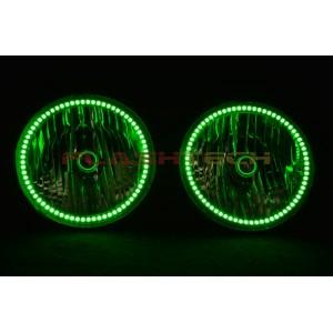 flashtech Hummer H3 V.3 Fusion Color Change LED Halo Headlight Kit (2005-2010) Hummer HU-H30510-V3H