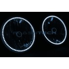 Jeep Wrangler  White LED HALO HEADLIGHT  KIT (2007-2015)