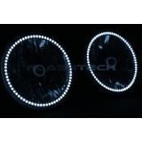 Hummer H2 White LED HALO HEADLIGHT  KIT (2003-2009)
