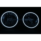 Hummer H3 White LED HALO HEADLIGHT  KIT (2005-2010)
