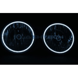 flashtech Hummer H2 White LED HALO HEADLIGHT  KIT (2003-2009) Hummer HU-H203-WH