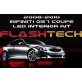 2008-2010 G37 Coupe White LED Interior Kit