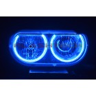 Dodge Challenger NonProjector V.3 Fusion Color Change LED HALO HEADLIGHT KIT 08-14
