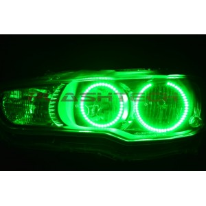 flashtech Mitsubishi Lancer V.3  Fusion ColorChange LED Halo Headlight Kit (2008-2014) Mitsubishi MI-LA0814-V3H