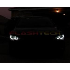 flashtech Mitsubishi Lancer white halo headlight kit (2008-2016) Mitsubishi MI-LA0814-WH