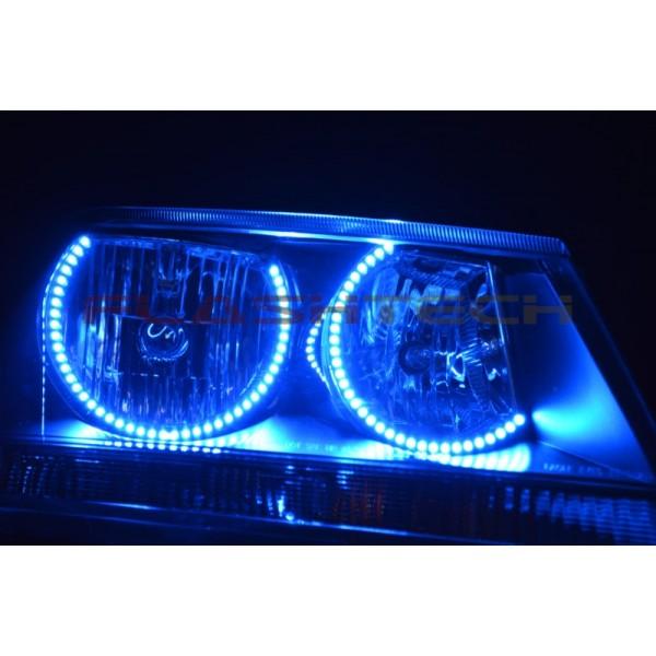 dodge avenger  fusion color change led halo headlight kit