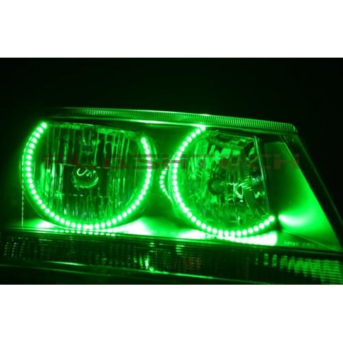 Hyundai Round Rock >> Dodge Avenger V.3 Fusion Color Change LED HALO HEADLIGHT ...