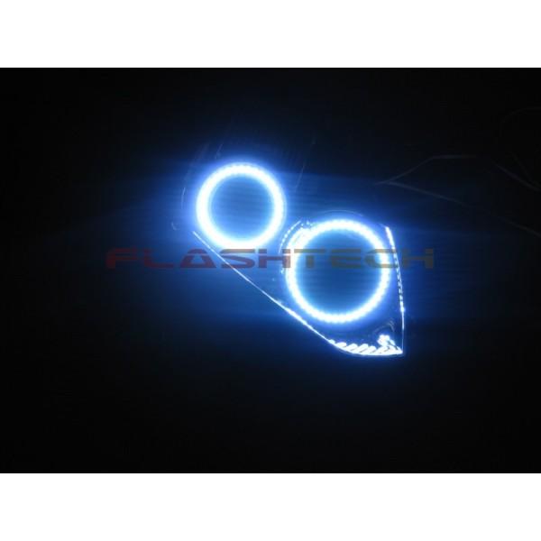 Flashtech White Led Headlight Halo Kit For Nissan Altima