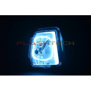 flashtech Dodge Ram V.3 Fusion Color Change LED Halo Fog Light Kit (2013+) 2010-2014 RAM DO-RM1314-V3F
