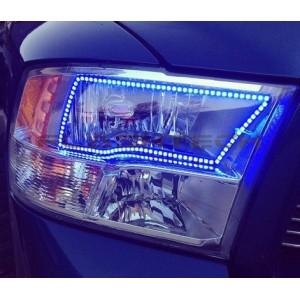 flashtech Dodge RAM SPORT V.3 Fusion Color Change LED Halo Headlight Kit 2009-2016 RAM DO-RMS1013-V3H