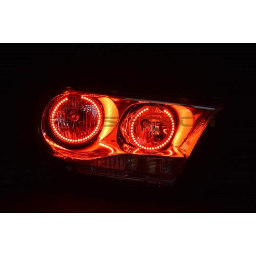 Dodge Durango V 3 Fusion Color Change Led Halo Headlight