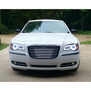 flashtech Chrysler 300 White LED HALO HEADLIGHT KIT (2011-2016) 300 CH-3001116-WH