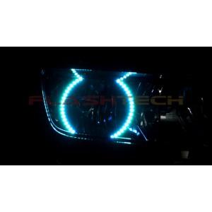 flashtech Chevrolet Camaro Non RS V.3 Fusion Color Change halo headlight kit 2014 + 14 + Camaro CY-CANR14-V3H