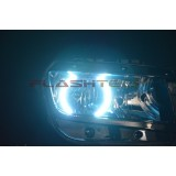 Chevrolet Camaro Non RS White LED HALO HEADLIGHT KIT (2014+)