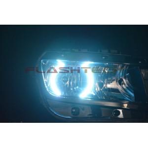 flashtech Chevrolet Camaro Non RS White LED HALO HEADLIGHT KIT (2014+) 14 + Camaro CY-CANR14-WH