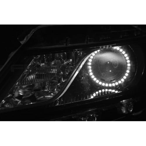 Chevrolet Impala White Led Halo Headlight Kit  2014