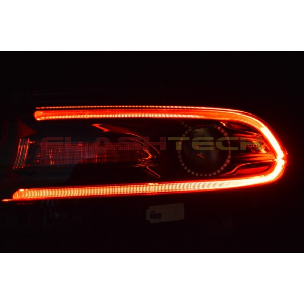 Dodge Charger Interior >> Dodge Charger V.3 Fusion Color Change LED DRL Headlight ...