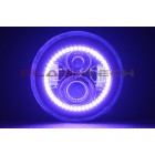 7 inch round LED Projector V.3 Fusion Color Change Halo Headlight Kit