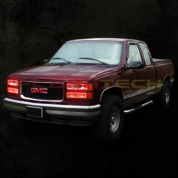 Chevrolet 1500 V 3 Color Change Upper Amp Lower Blinker Halo