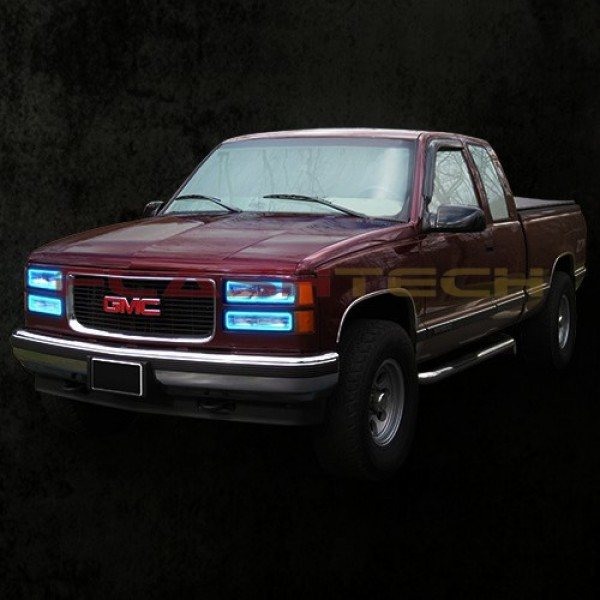 GMC 1500 V.3 Color Change upper & lower blinker halo ...