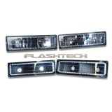 Chevrolet 1500 V.3 Color Change upper & lower blinker halo headlight kit (1988-1998 OBS)