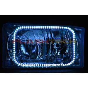 flashtech Ford F250 / F350 V.3 Fusion Color Change LED Halo Headlight Kit (1999-2004) F250 - F350 FO-F29904-V3H