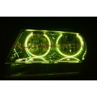 Jeep Grand Cherokee Round V.3 Color Change LED Halo Headlight Kit (1999-2004)