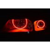Ford Mustang Non Projector V.3 Color Change LED Halo Headlight Kit (1999-2004)
