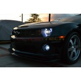 Chevrolet Camaro Non RS White LED HALO HEADLIGHT  KIT (2010-2013)