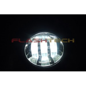 "flashtech Flashtech 4030 LED Fog Lamp Assemblies: 4"" Round Assemblies FT4030-P"