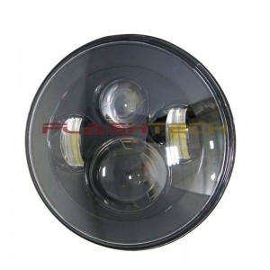 "flashtech Flashtech 7045 LED Headlight Assemblies: 7"" Round Headlight FT7045-P"