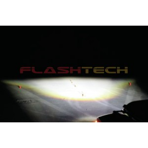 "flashtech Flashtech 7045 LED Headlight Assemblies: 7"" Round Headlight FT7045-PC"