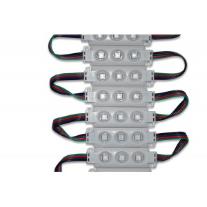 flashtech Waterproof 3 LED Pods - RGB Flexible Strip FTLED-3POD-RGB