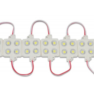 flashtech Waterproof 4 LED Pods - White Flexible Strip FTLED-4POD-W
