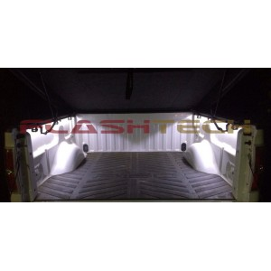 flashtech Waterproof 4 LED Pods - White Flexible Strip FTLED-4POD-W
