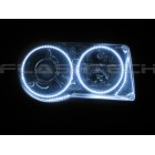 Chrysler 300C White LED HALO HEADLIGHT KIT (2005-2010)